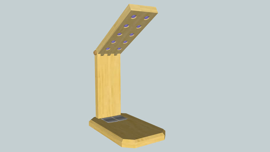 Wooden Table Lamp Stand
