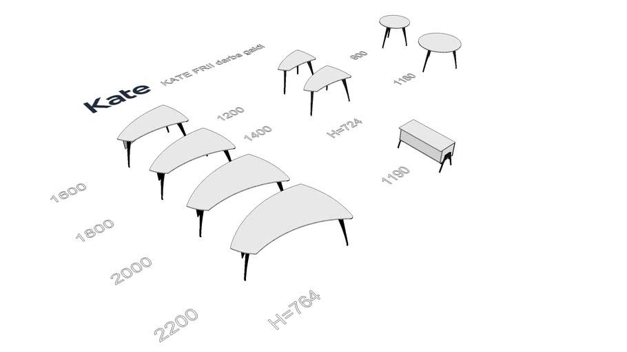 KATE FRII galdi