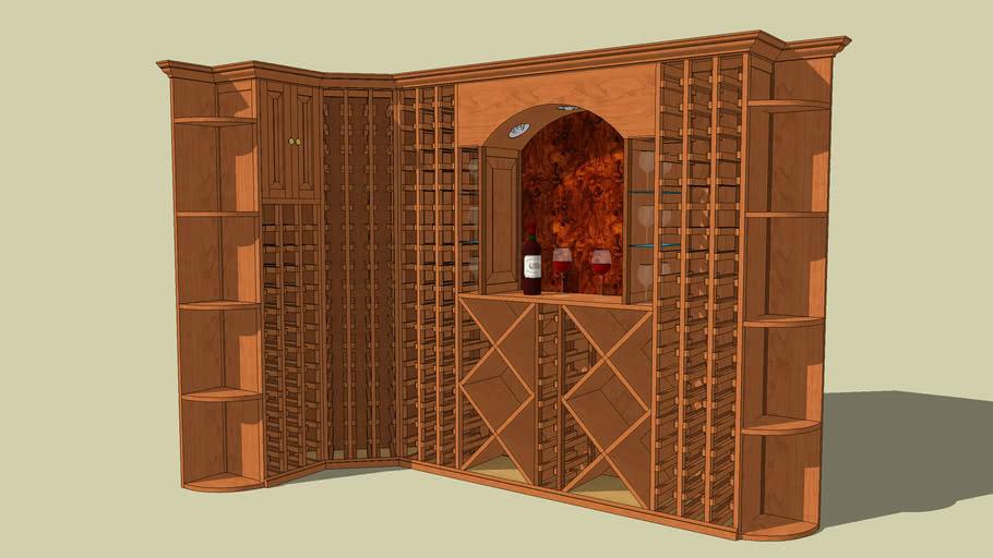 Wine Rack Unit