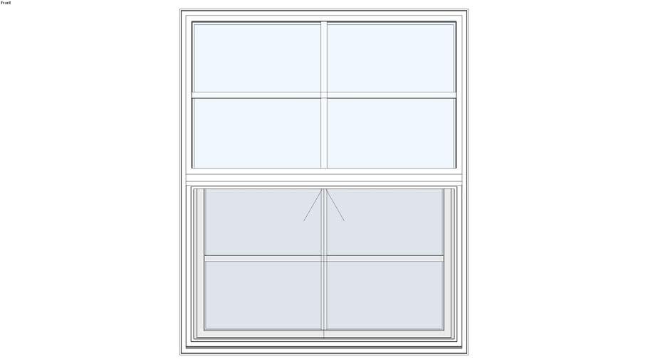 Standard Aluminum Series Single Hung Window