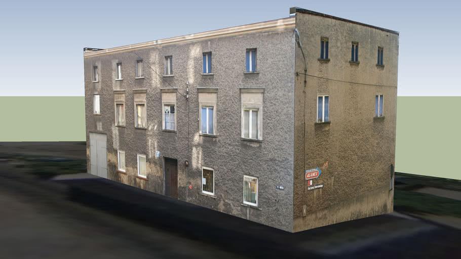 Budynek przy ul.M.Buczka17 w Boguszowie-Gorcach