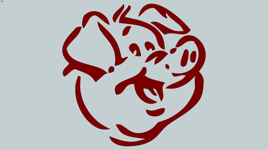 PORCO FELIZ (PIG)