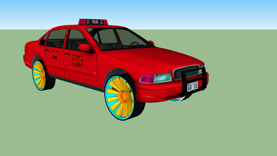 custom taxi