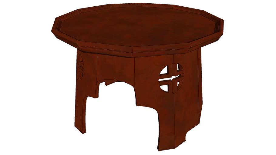 밥상 12각 공고상 公故床  번상 番床 풍혈상 風穴床 조선시대 Korean Heritage Joseon Era dining table on head carrying 3D Artworks