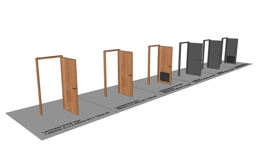 Timber & Aluminum Swing Doors