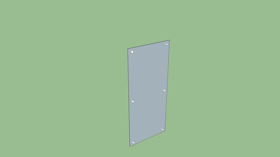 Zintra Panels with standoffs