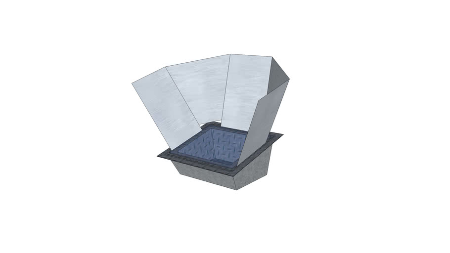 Solar Cooker at 15 degree