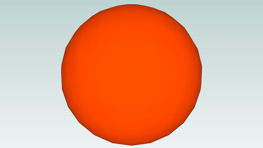 The sun to scale