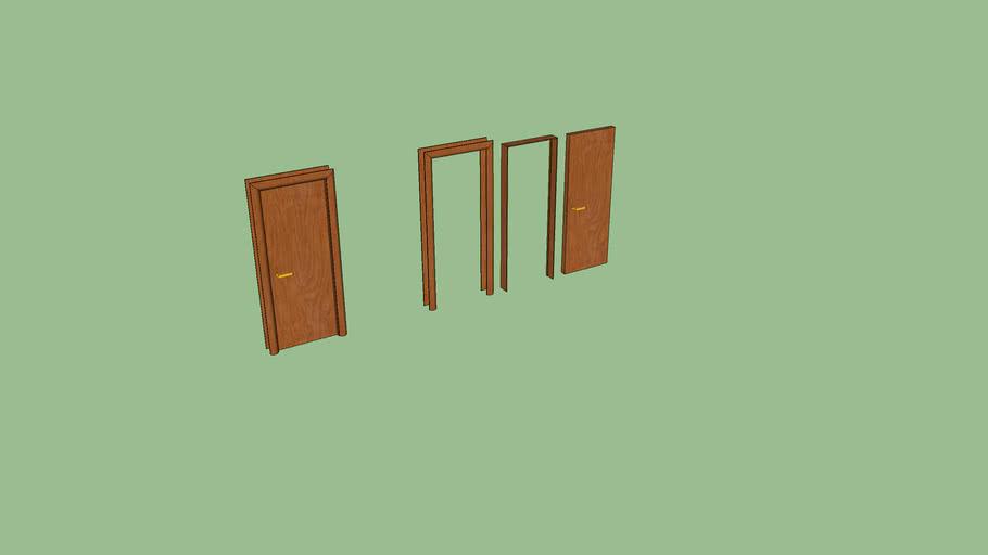 Porta interna per tramezzo da 20cm (modificabile)