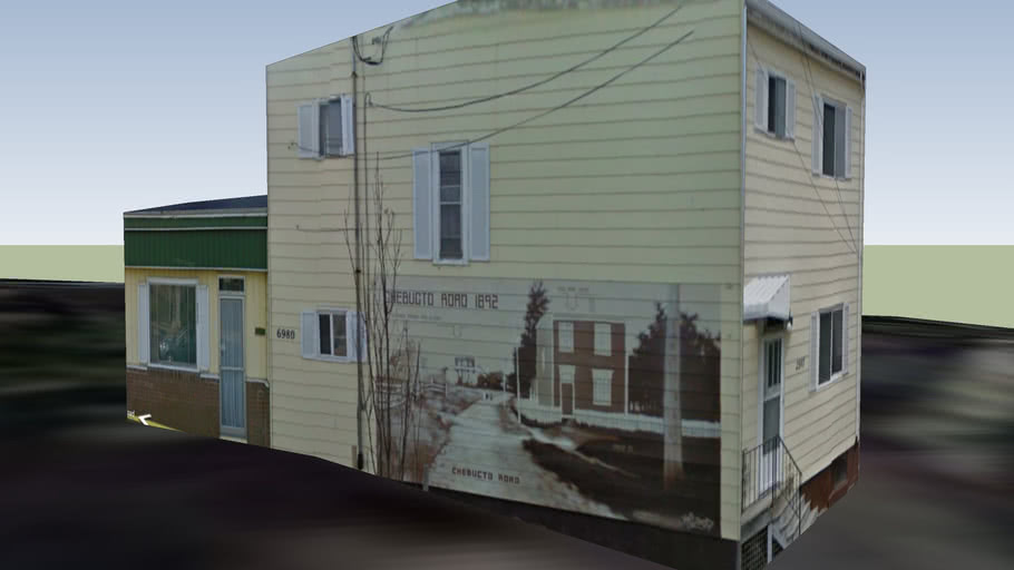 Chebucto Mural on House