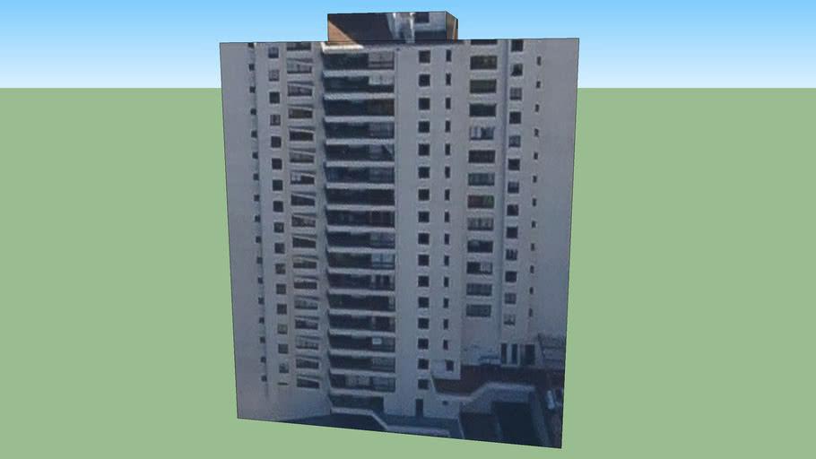 Building in Valparaiso, Chile