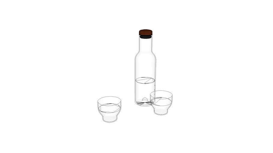 Menu_Bottle_Carafe brown