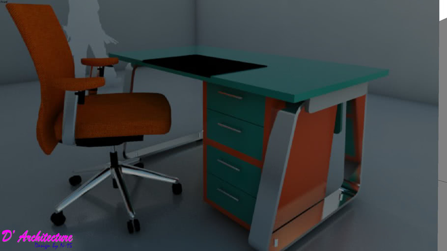 Meja Kantor 001