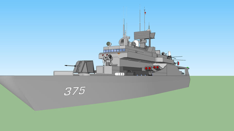 indonesian battleship