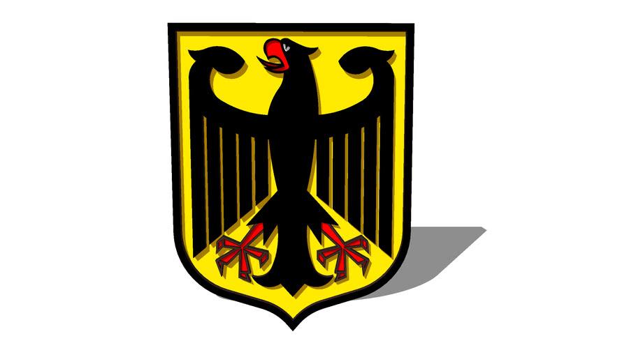 Das Staatswappen der Bundesrepublik Deutschland
