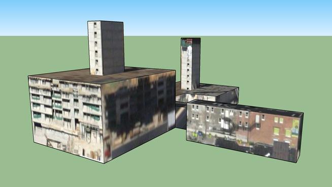 Edificio en Chicago, IL, USA