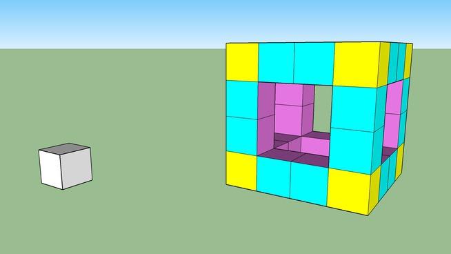 Edoardo - Cubo di Cubetti 3