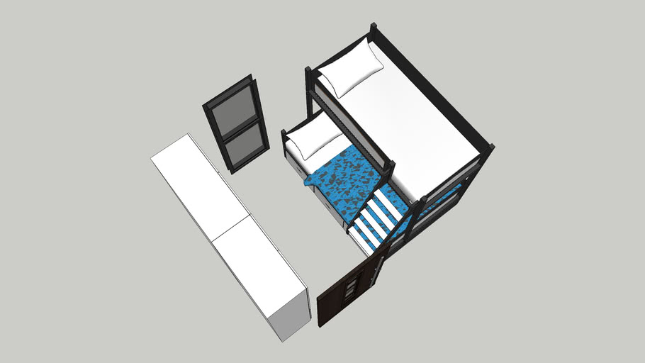 louric small room with deck