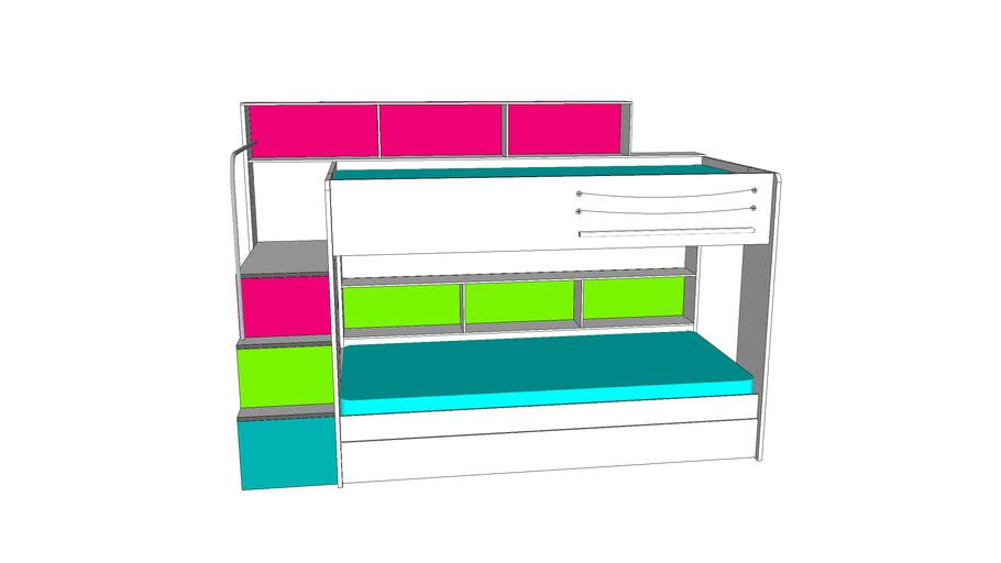 bunk bed swan