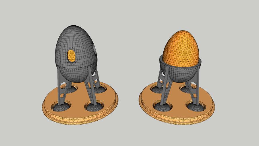 Egg Cup Lander