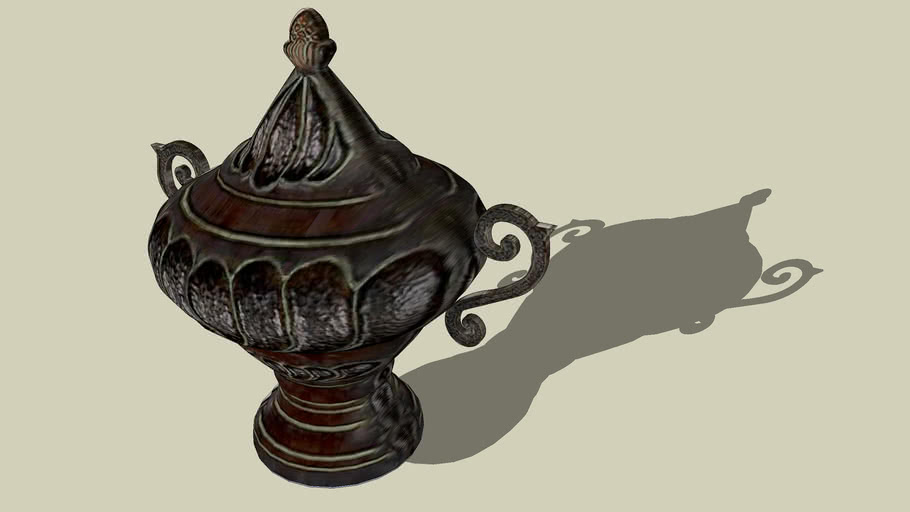 An old vase