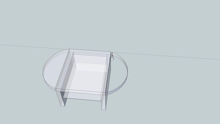 Monitor Stand with shelf