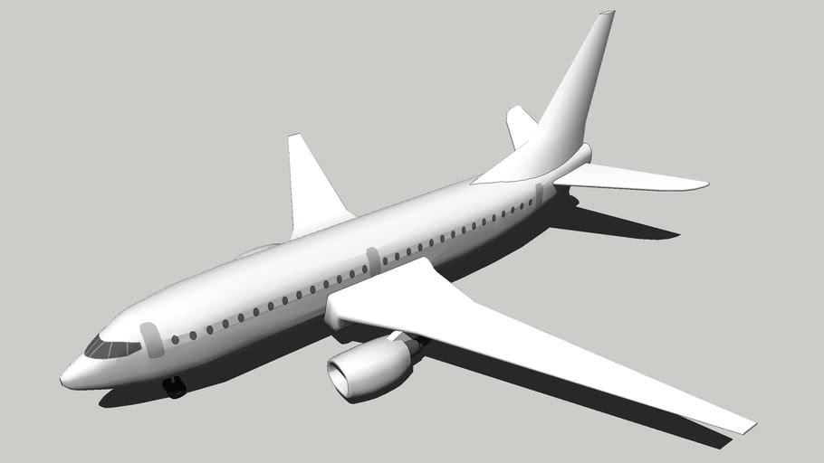 Blank Boeing 737-600
