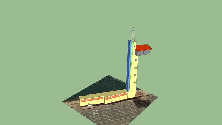 Torre de salvamento maritimo de Almería