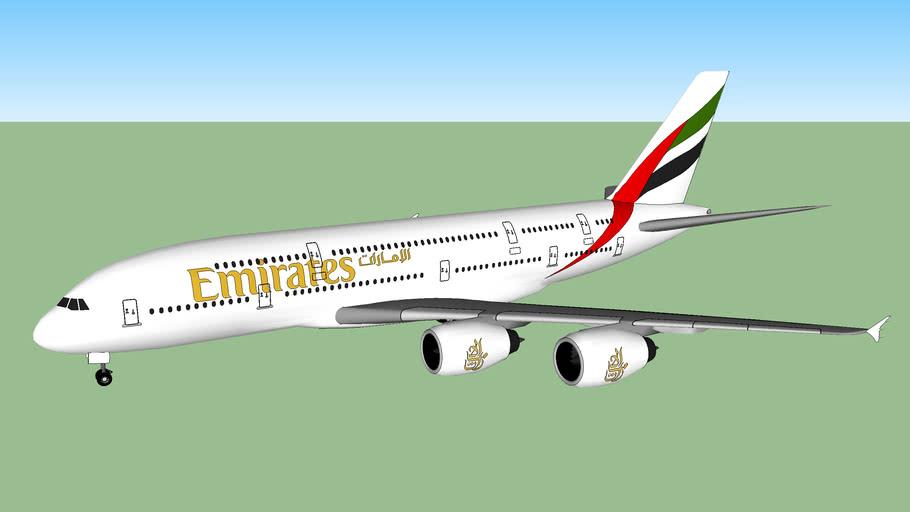 Emirates Airbus 380-800