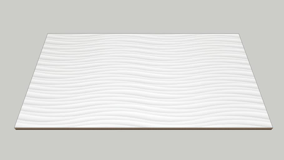 CREATIVE JAZZ WHITE BR 32,5X59CM