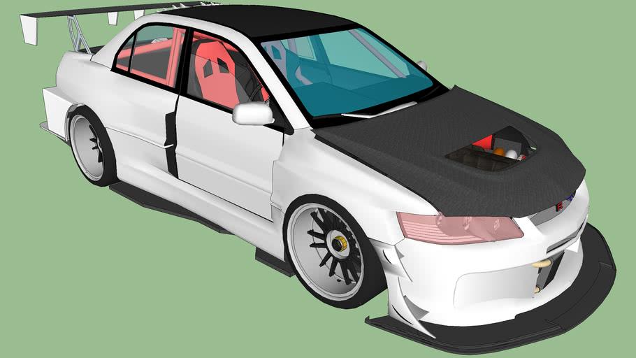 Mitsubishi Lancer Evolution IX Time Attack