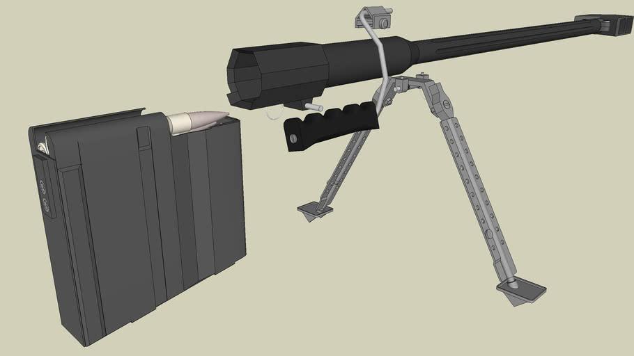 Barrett M82A (components 2)