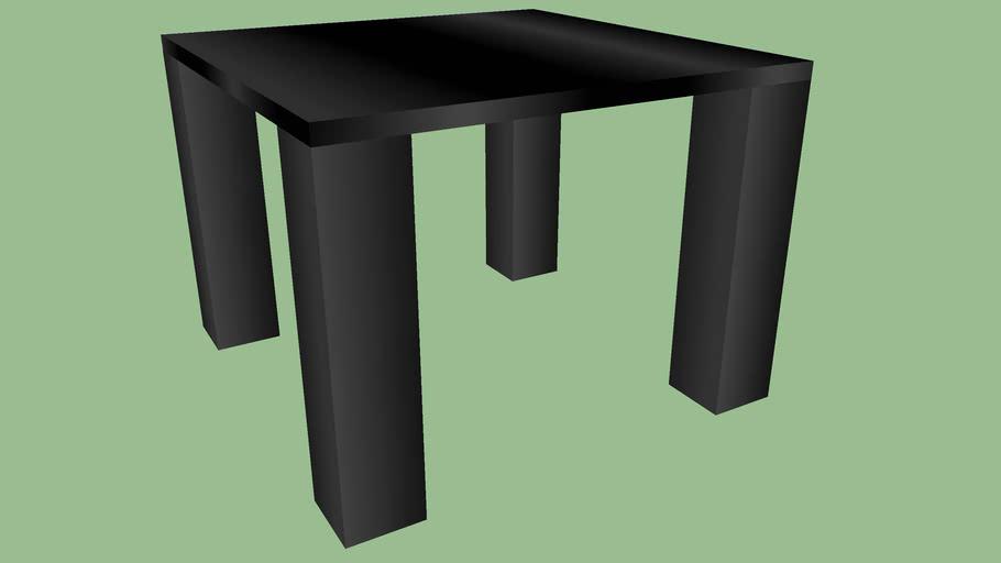 LAZZONI MAS601 GLASS TOP TABLE