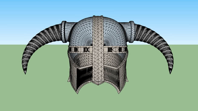 Skyrim Helmet | 3D Warehouse