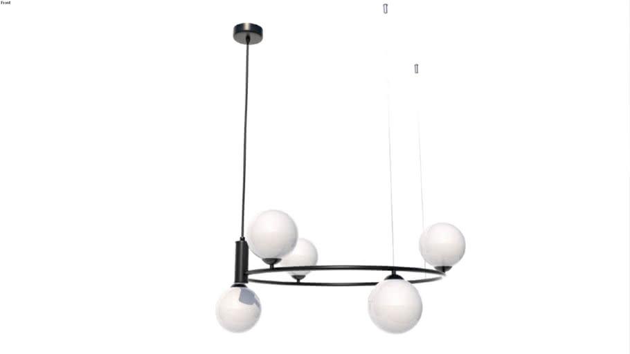 Maytoni Pendant Lamp Ring MOD013PL-06B