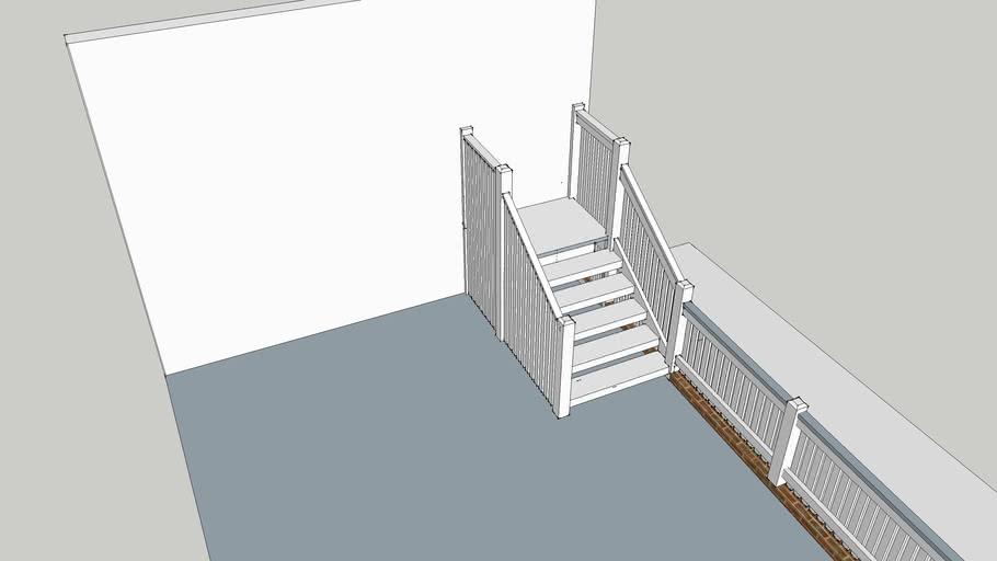signal box stairs