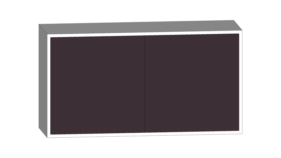 IKEA - BESTA scaffale biano/nero