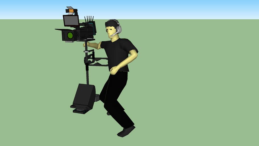 Glidecam With Operator