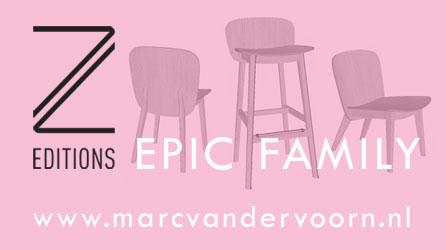 EPIC family - ZET furniture - Design: Marc Th. van der Voorn