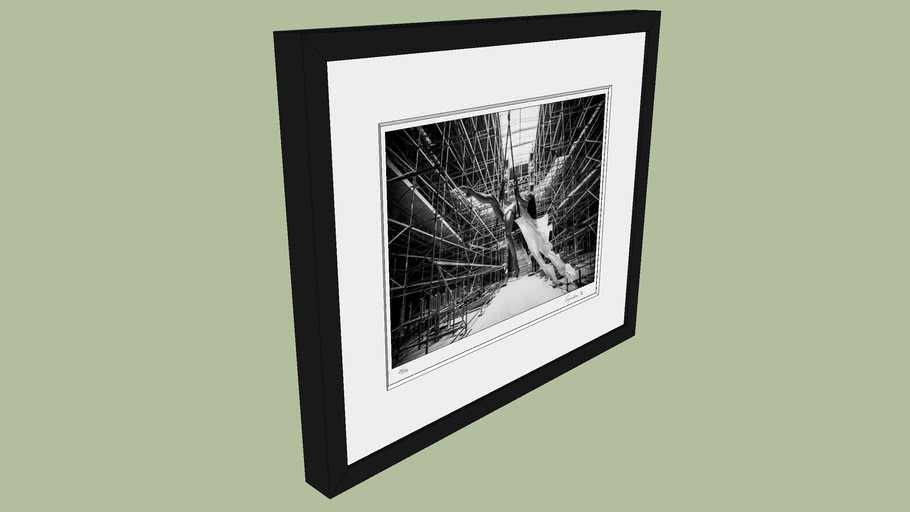 "BRODZIAK ""Ballerina #10"" 46x38 cm - Black&White, Photography, Image, Picture"