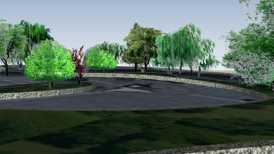 景德镇广场元素立体化西北