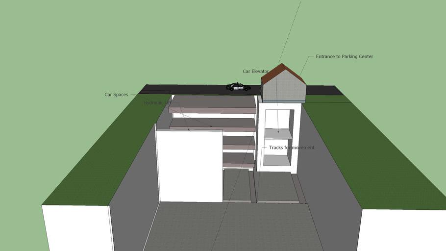 Idea for auto parking garage