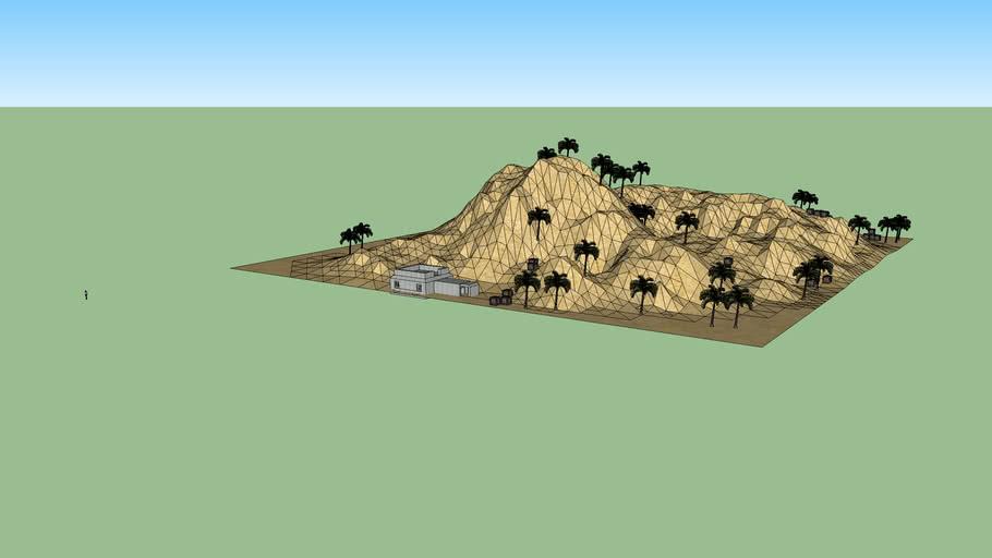 Uberstrike Desert Map