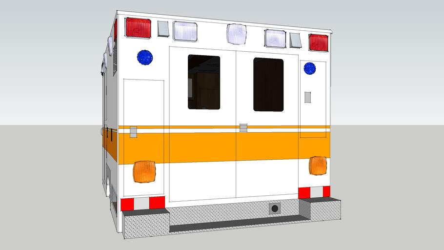ambulance type l ford f350 model 1992