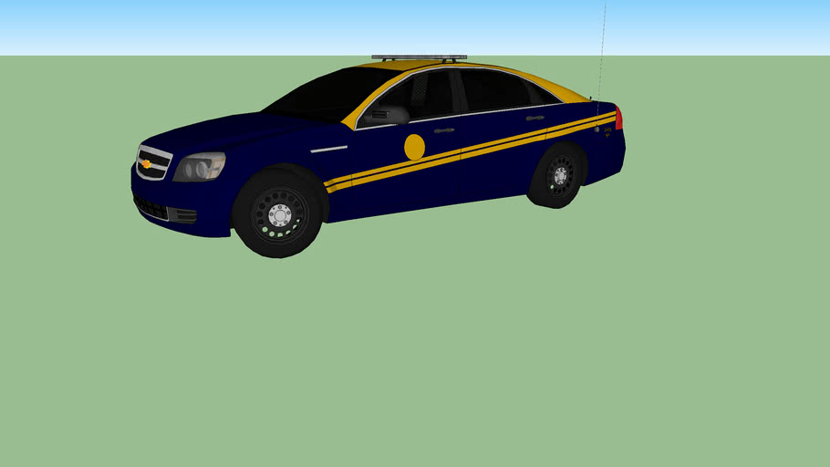 2013 Chevy Impala from West Virginia State Police