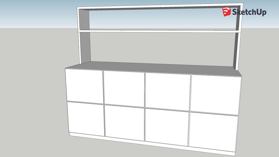 file cabinet & book shelf