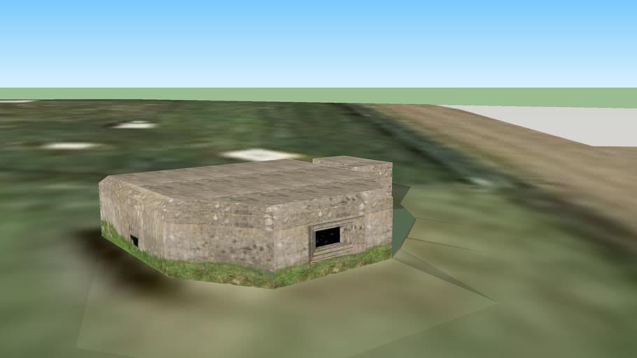 Vickers Machine Gun Post, Monkton Farleigh  Ammunition Depot, Wiltshire