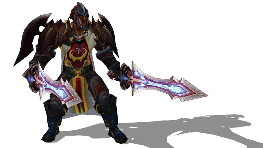 World of Warcraft - Human Warrior