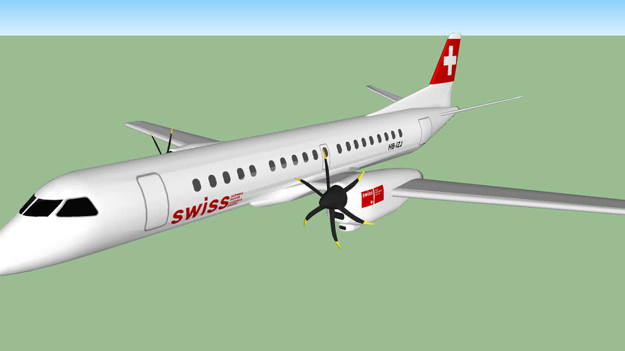 Swiss International Airlines Saab 2000 (2006)