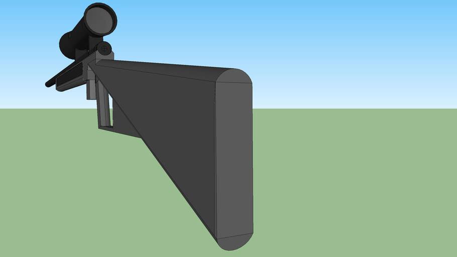 KB .308 semi auto sniper